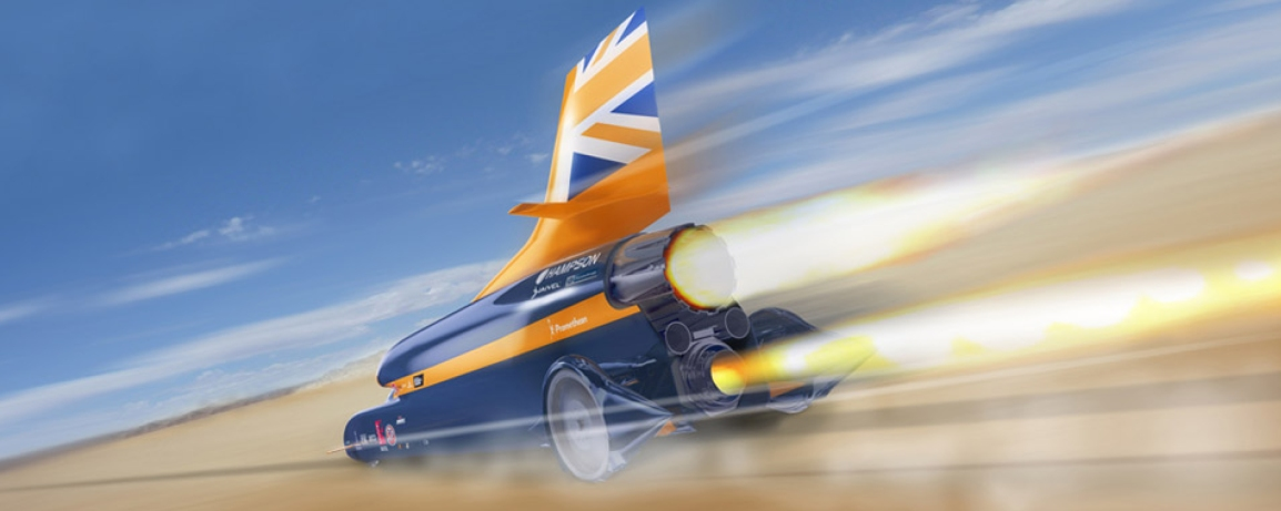 BLOODHOUND SUPERSONIC CAR PROJECT GOES INTO ADMINISTRATION