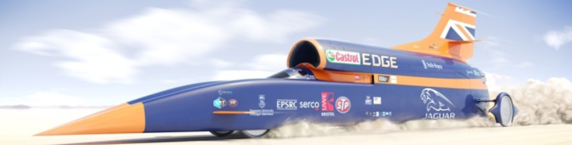 BLOODHOUND SUPERSONIC CAR PROJECTSAVED