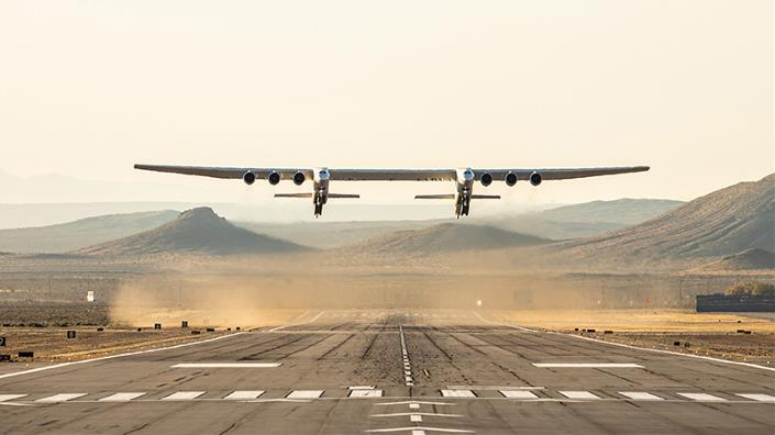 Largest plane in the world 'will launch up to three hypersonic test vehicles per flight'
